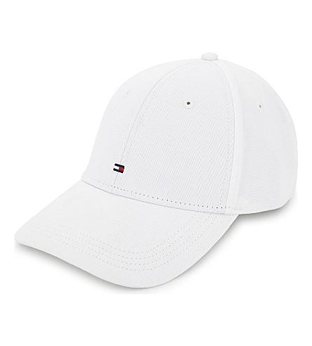 TOMMY HILFIGER Classic cotton baseball cap (White