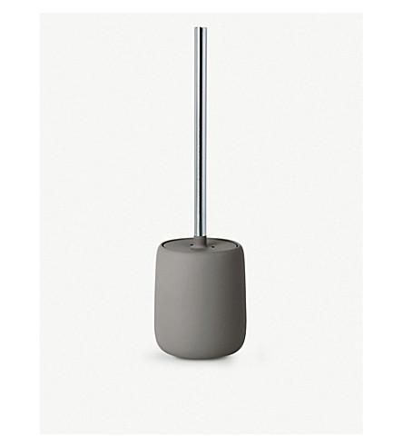 BLOMUS Sono toilet brush and ceramic holder 39cm
