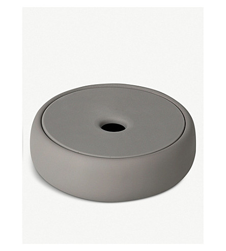BLOMUS Sono ceramic and silicone soap dish 175ml