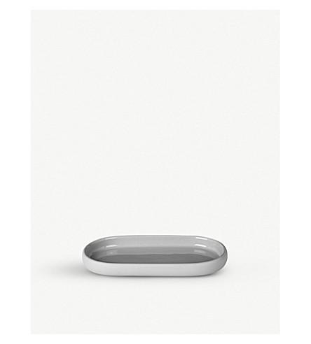 BLOMUS Sono ceramic and silicone tray 19cm