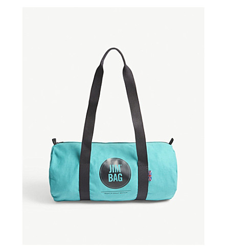 JIMBAG Cotton canvas barrel bag