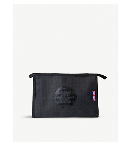 JIMBAG Black canvas washbag