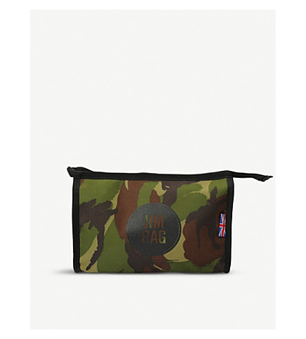 JIMBAG Camo canvas washbag