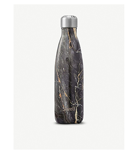 SWELL Bahamas Gold Marble water bottle 483ml