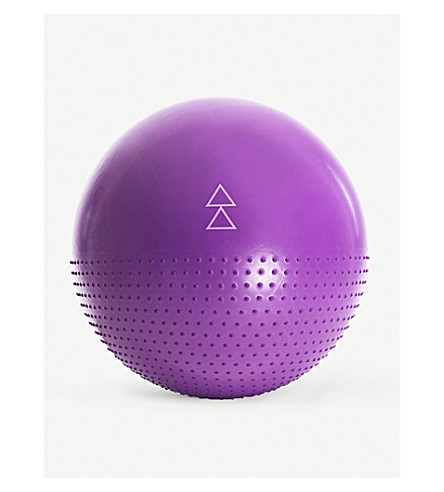 YOGA STUDIO Yoga Design Lab 65cm yoga ball and pump
