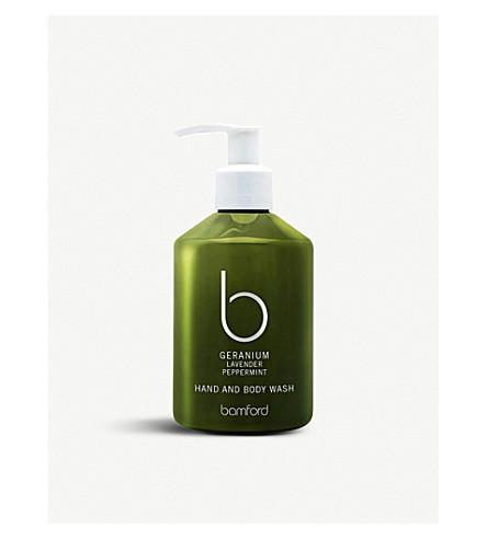 BAMFORD Geranium hand & body wash 250ml