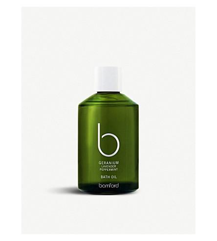 BAMFORD Geranium bath oil