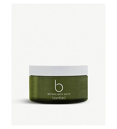 BAMFORD Botanic bath salts 250g