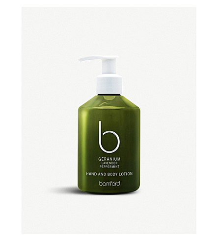 BAMFORD Geranium hand & body lotion 250ml