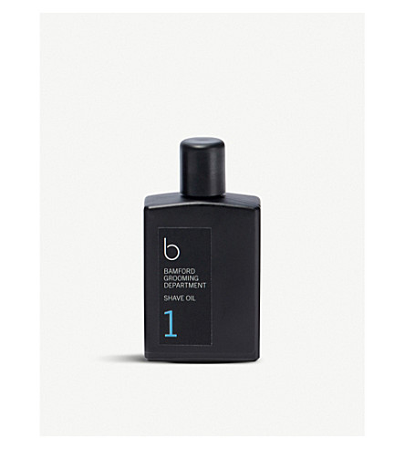 BAMFORD Edition 1 shave oil 30ml