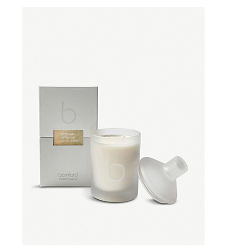 BAMFORD Rosemary double wick scented candle 300g