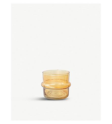 URBAN NATURE CULTURE Por do Sol glass tealight holder 6cm