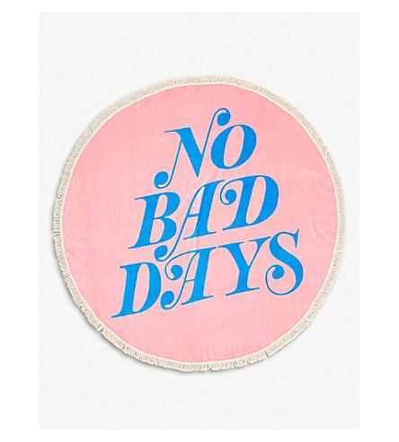 No Bad Days cotton towel 152x152cm