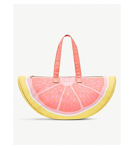 Grapefruit cooler bag