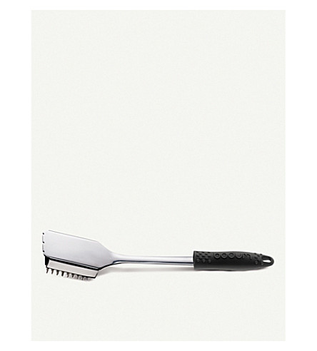 BODUM Fyrkat stainless steel grill tool brush 33cm
