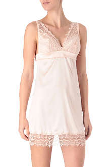 MIMI HOLLIDAY Bisou Bisou Rose slip