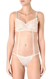 MIMI HOLLIDAY Sticky Toffee Pudding lace body
