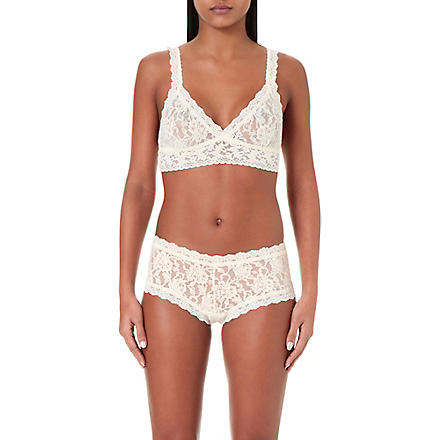 HANKY PANKY Signature lace soft bra (Ivory