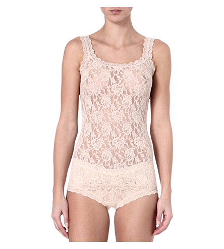 HANKY PANKY Signature Lace camisole (Chai
