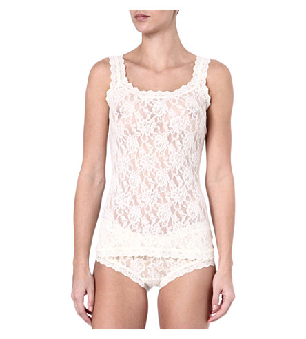 HANKY PANKY Signature Lace camisole (Ivory