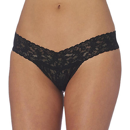 HANKY PANKY Signature Lace thong (Black