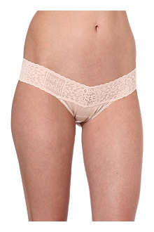 HANKY PANKY Logo-detail low-rise thong
