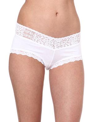 HANKY PANKY Logo-detail boy shorts