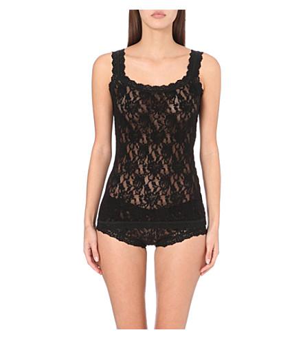 HANKY PANKY Signature Lace camisole (Black