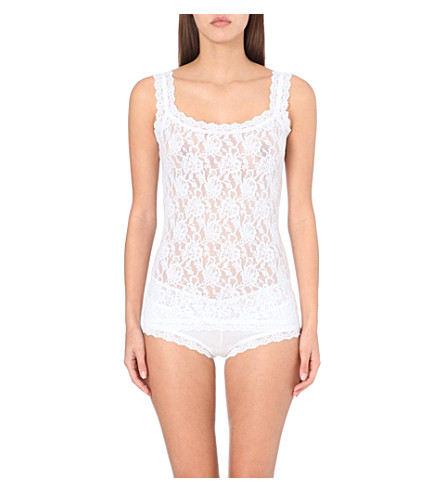 HANKY PANKY Signature lace camisole (White