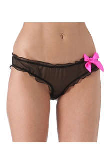 DIRTY PRETTY THINGS Ophelia silk briefs