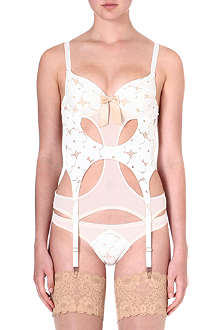 LASCIVIOUS Lucy lace basque
