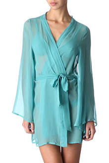 BEAUTIFUL BOTTOMS Aqua night robe