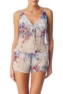 BEAUTIFUL BOTTOMS Printed playsuit