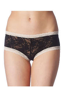 KINKY KNICKERS Emily lace boy shorts