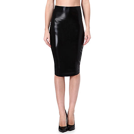 ATSUKO KUDO Lady pencil skirt (Black