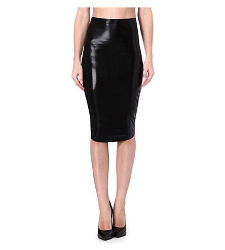 ATSUKO KUDO Lady pencil skirt (Black