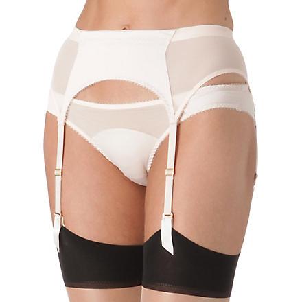 L'AGENT BY AGENT PROVOCATEUR Penelope suspender belt (Nude