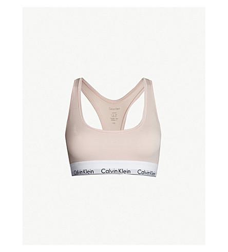 CALVIN KLEIN Modern stretch-cotton bralette (2nt+nymphs+thigh