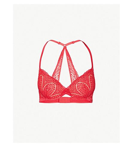 CALVIN KLEIN Lace plunge bra (3ew+empower