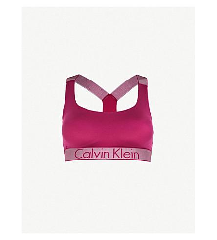 CALVIN KLEIN Customised Stretch jersey bralette (In8+indulge