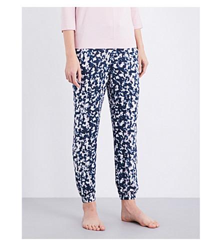 CALVIN KLEIN Printed crepe pyjama bottoms (Mes+mesmerizing+print