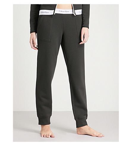 CALVIN KLEIN Modern Cotton cotton-jersey jogging bottoms (001+black