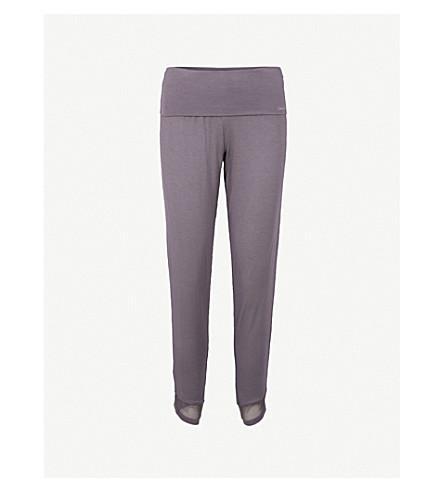 CALVIN KLEIN Skinny jersey pyjama bottoms (Np6+napa