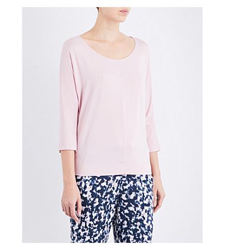 CALVIN KLEIN Scoop neck jersey pyjama top (Nc7+connected