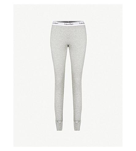 CALVIN KLEIN Modern cotton-jersey pyjama bottoms (Ggr+grapic+rib