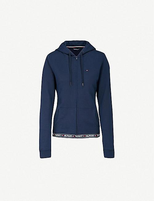 7a9ea262760 TOMMY HILFIGER Nostalgia cotton-blend hoody