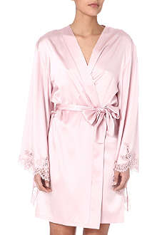 ID SARRIERI Coco rosie satin mini robe