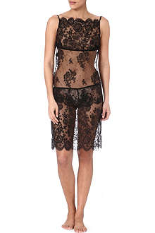 ID SARRIERI Lace midi dress
