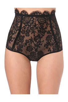 ID SARRIERI La Robe Noir high-waisted briefs