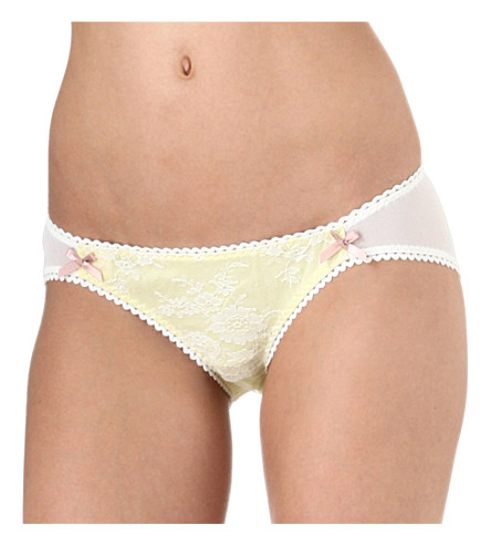 FIFI CHACHNIL Mina briefs (Yellow